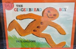 Front Cover of The Gingerbread Boy by Paul Galdone